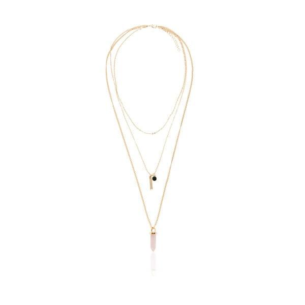 Dámsky náhrdelník v zlatej farbe NOMA Francine