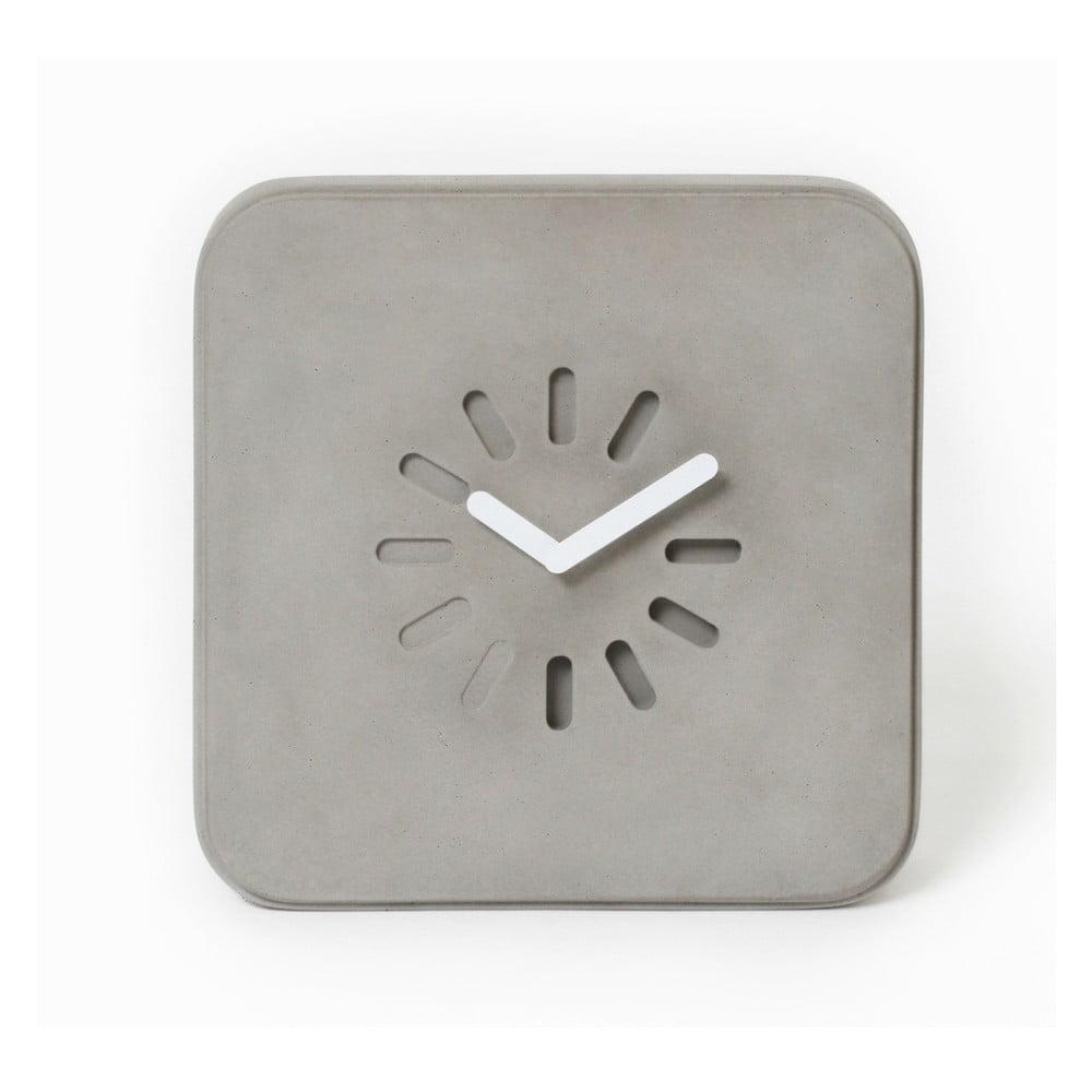 Betonové nástěnné hodiny Lyon Béton Life In Progress