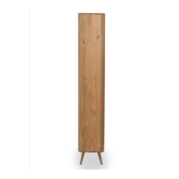 Šatní skříň z dubového dřeva Gazzda Ena