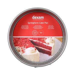 Kulatá forma na pečení dortu s nepřilnavým povrchem Dexam Springform Cake, ø20cm