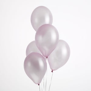Sada 50 světle růžových balónků Neviti Simply Love