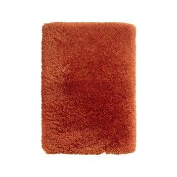 Covor țesut manual Think Rugs Polar PL Terra, 80 x 150 cm, roșu de la Think Rugs