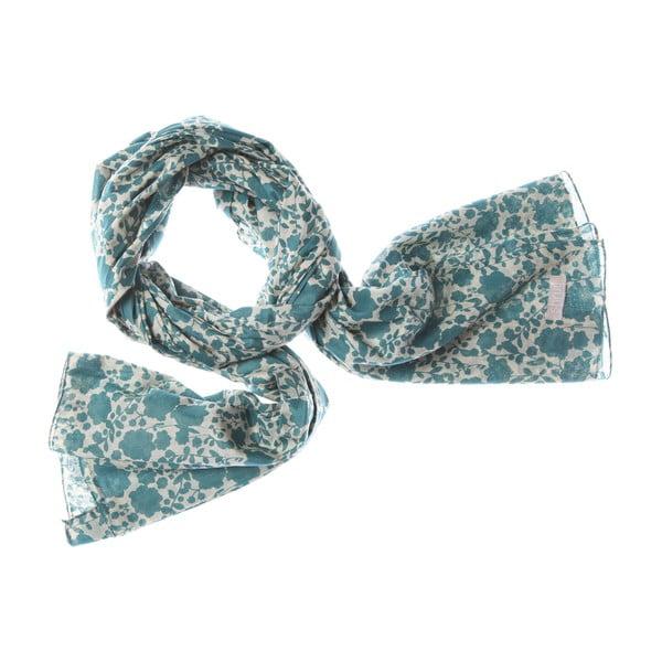 Šátek Hanging Blue, 200x100 cm
