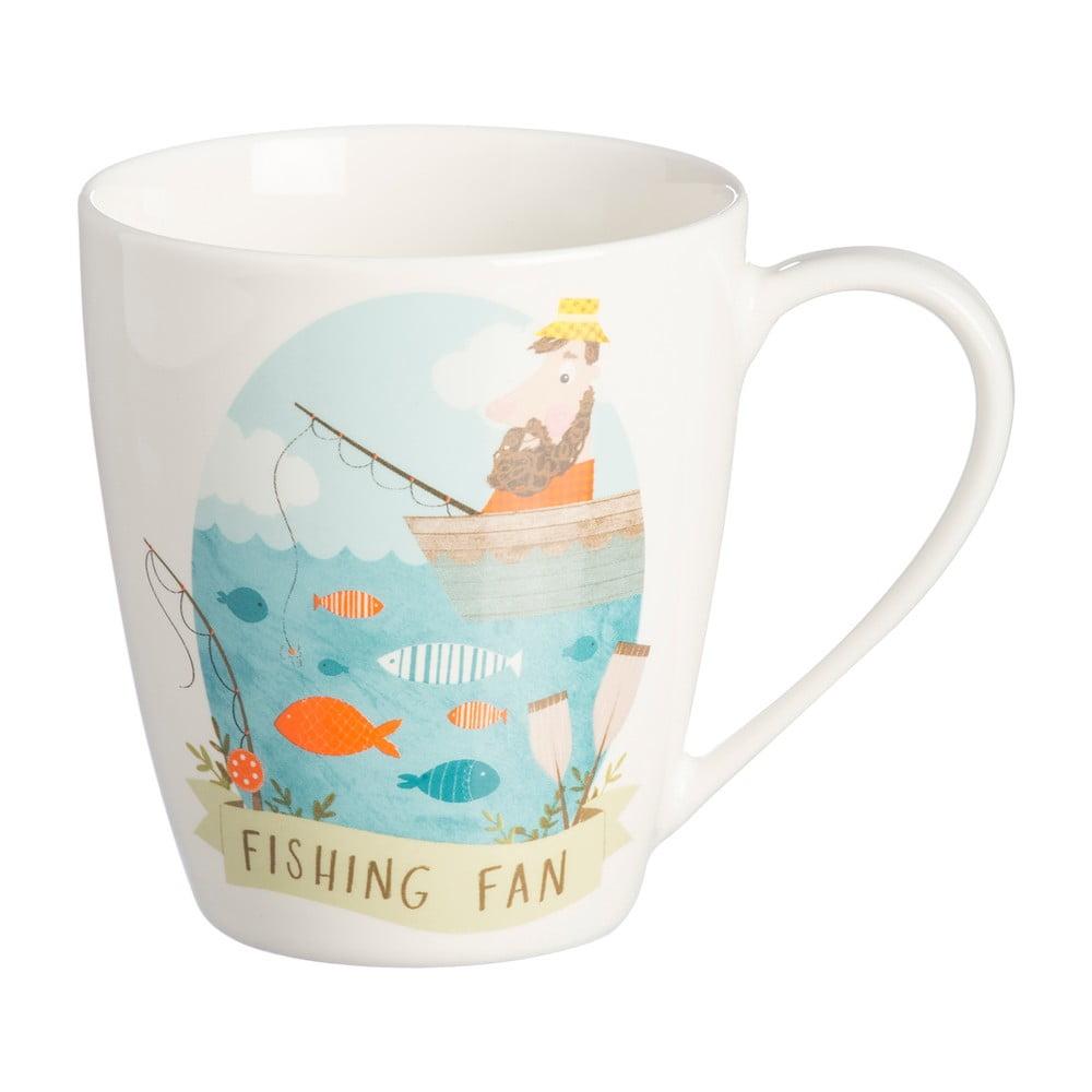 Hrneček z porcelánu s motivem rybáře Price & Kensington