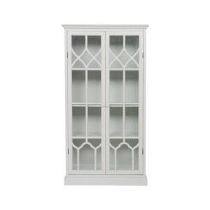 Bílá skříň z borovicového dřeva BePureHome Fresco