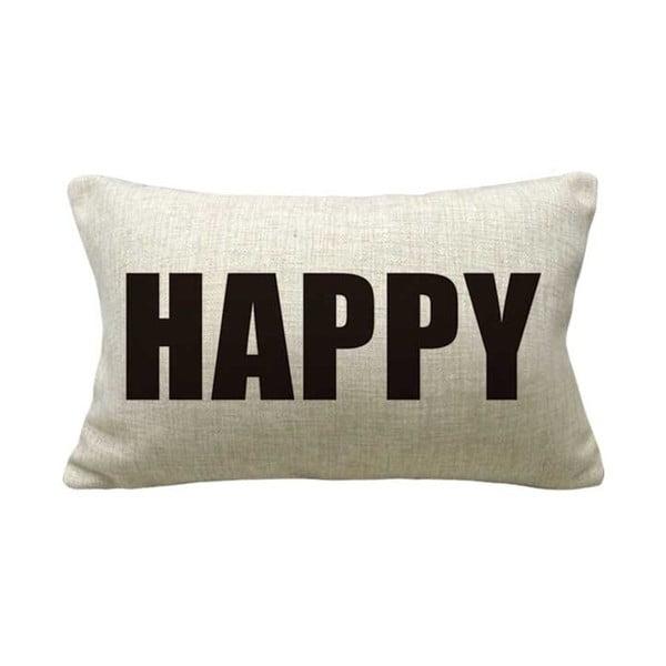Povlak na polštář Happy, 50x30 cm