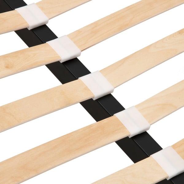 Postel v přírodní barvě Vivonita Windsor Linen, 200x180cm