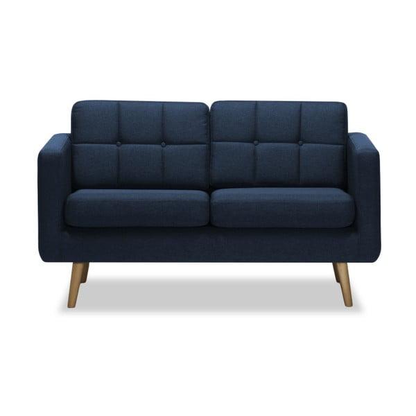 Ciemnoniebieska sofa 2-osobowa Vivonita Magnus