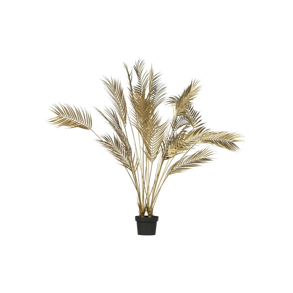 Umělá palma ve zlaté barvě WOOOD,výška110cm