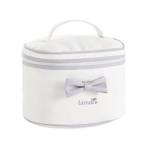 Šedo-bílá taška Tanuki Toilet Bag, 30x20cm