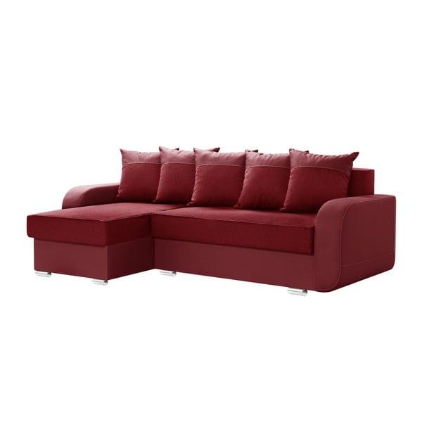Červená sedačka Interieur De Famille Paris Destin, levý roh