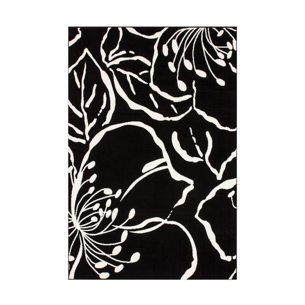 Koberec Kayoom Saga Black, 80x150 cm