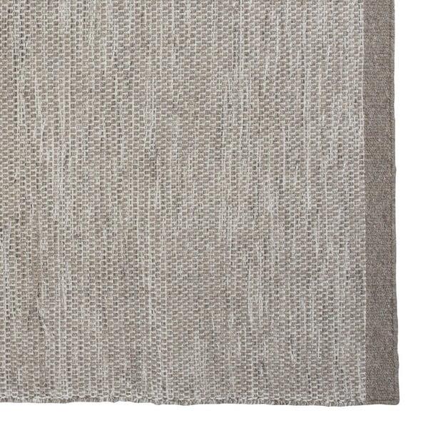 Vlněný koberec Asko, 140x200 cm, světle šedý