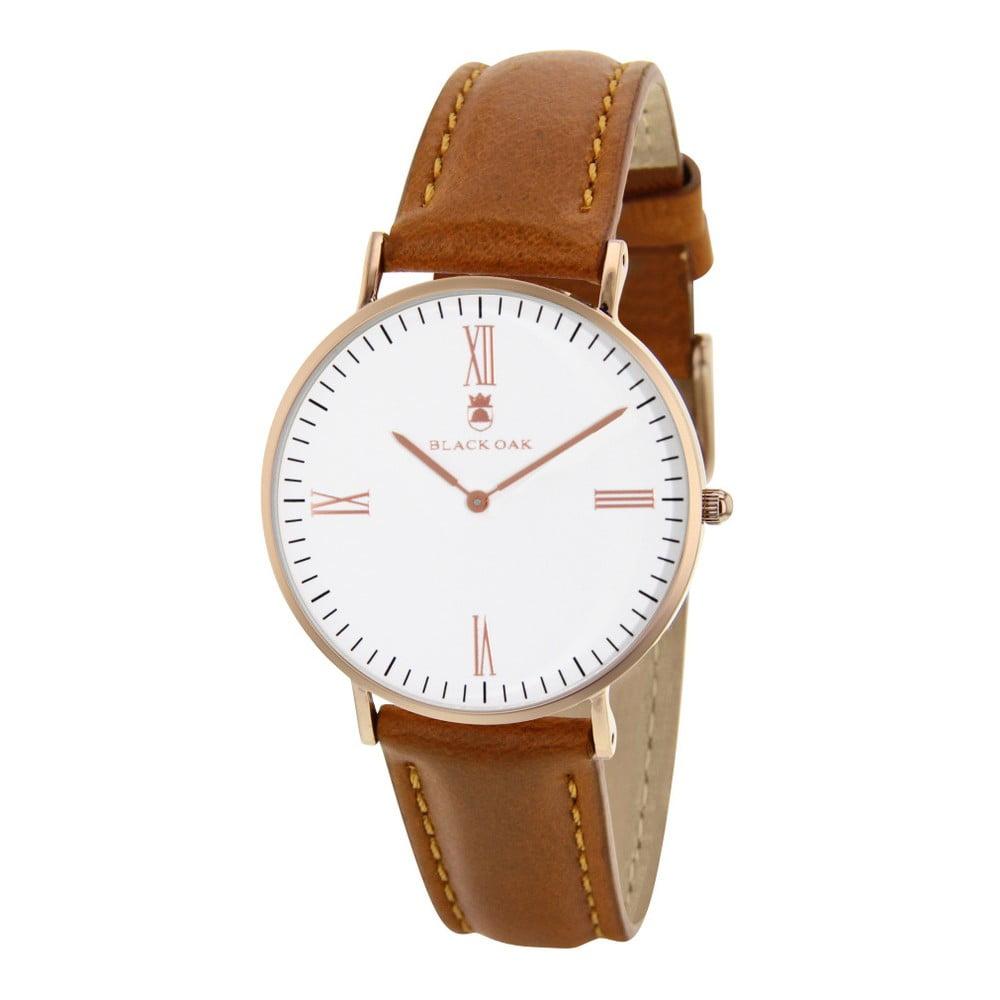 Světle hnědé dámské hodinky Black Oak Old Timer  a0326adcd2