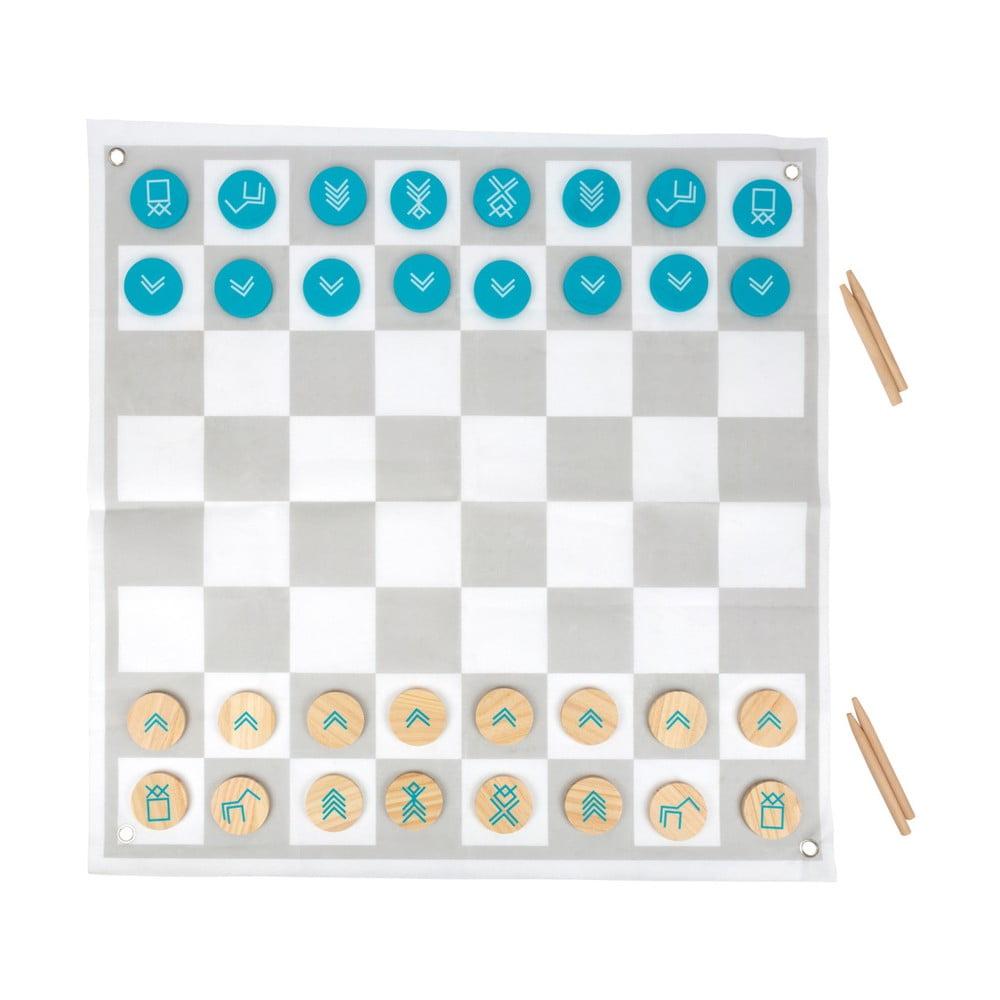 Dřevěné šachy / Dřevěná dáma Legler Draughts and Chess