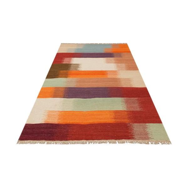Vlněný koberec Kilim no. 181, 120x180 cm