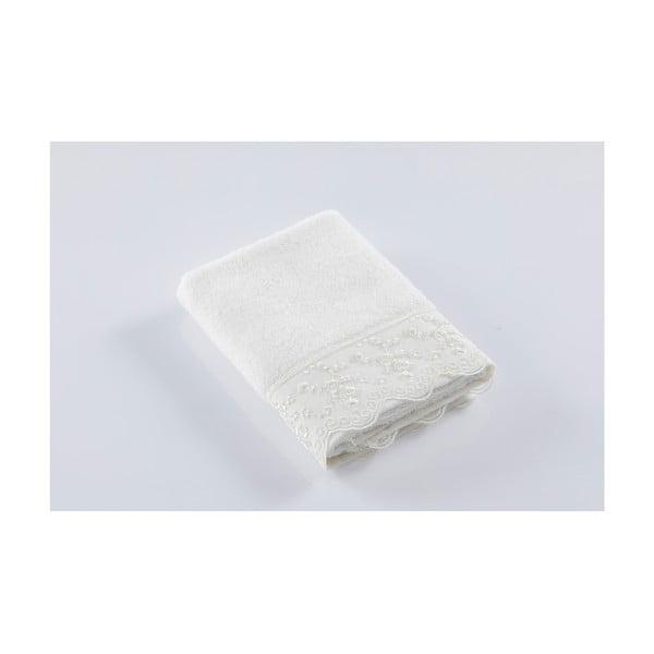 Bílý ručník z bavlny Bella Maison Gemma, 50 x 90 cm