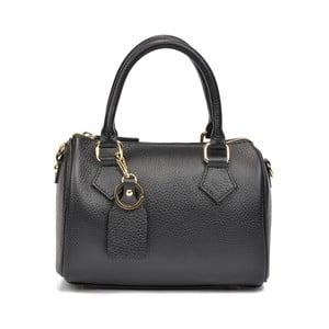 Černá kožená kabelka Renata Corsi Carisa