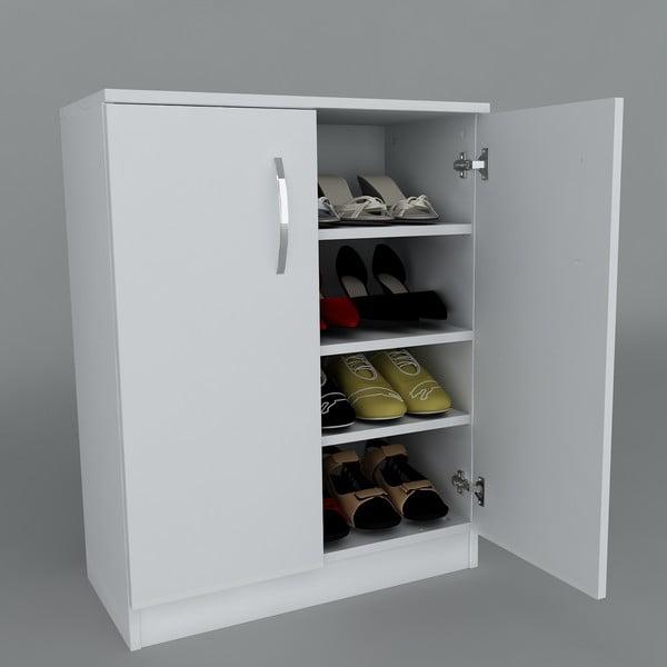 Botník Napa White/Cordoba, 70x90x35,3 cm