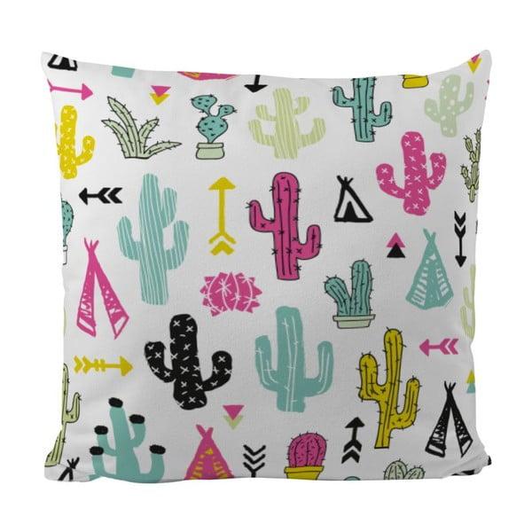 Polštář Cacti And Teepee, 50x50 cm
