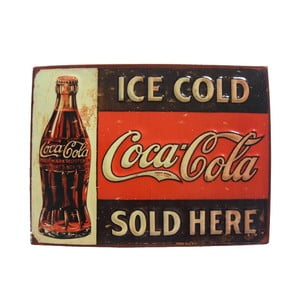 Cedule na stěnu Ice Cold Coca Cola