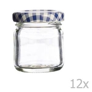 Sada 12 zavařovacích sklenic Kilner Round, 43ml