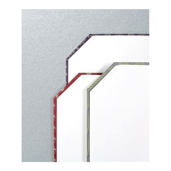 Ručně šitý zápisník bez linek Calico Trence