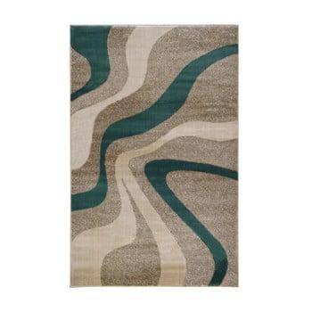 Covor Webtappeti Swirl Aqua, 80 x 150 cm, gri