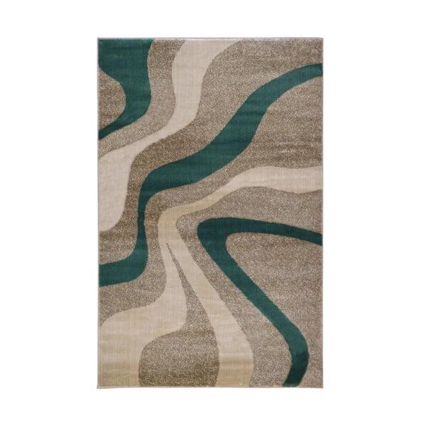 Swirl Aqua szürke szőnyeg, 80 x 150 cm - Webtappeti