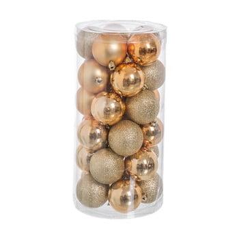 Set 30 decorațiuni de Crăciun Unimasa Baladdas, auriu imagine