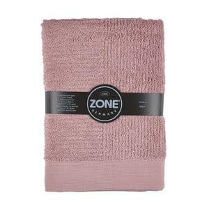 Růžová osuška Zone,140x70cm