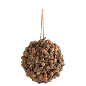 Závěsná dekorace soříšky J-Line Nuts, ⌀15cm