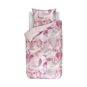 Růžové vzorované povlečení Esprit Paia, 135x200cm