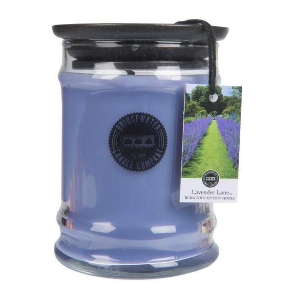 Svíčka ve skle s vůní levandule Bridgewater candle Company, doba hoření 65-85 hodin