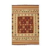 Ručně tkaný koberec Kilim Julep, 95x155cm