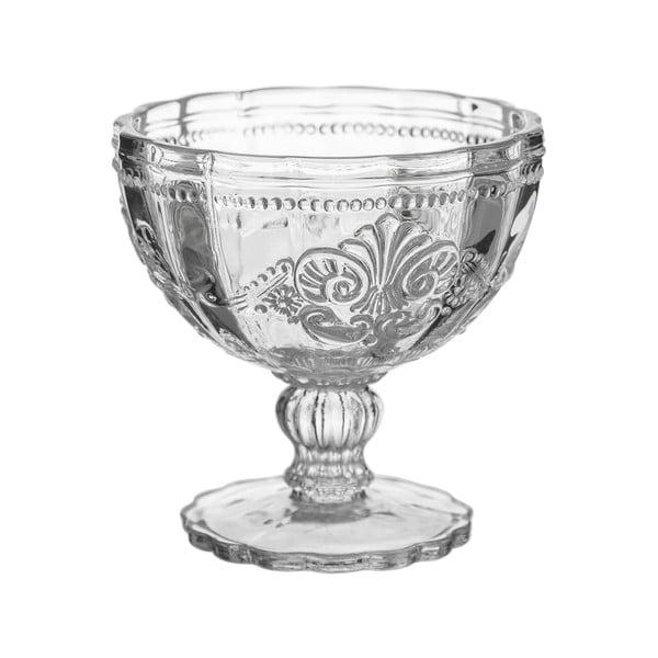 Sklenený pohár na zmrzlinu Unimasa Damasco, 215 ml