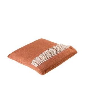 Vlněný polštář Liverpool 40x50 cm, tmavě oranžový