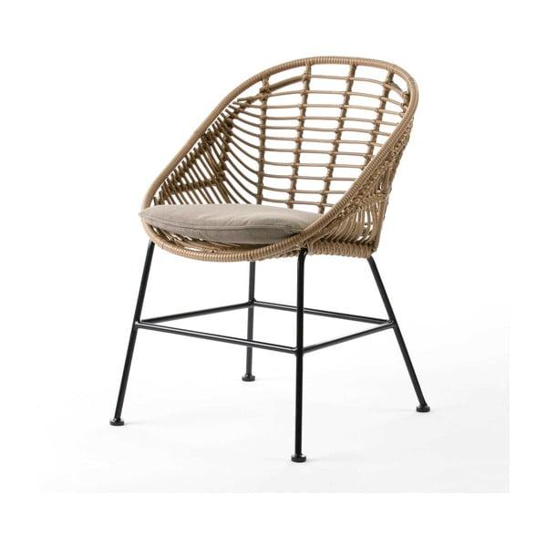 Jídelní židle v barvě bambusu Thai Natura Cushion