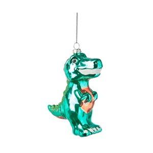 Vánoční závěsná ozdoba ze skla Butlers Tyranosaurus