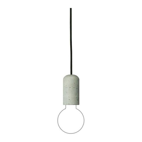 Černé svítidlo od Jakuba Velínského, 1,2 m