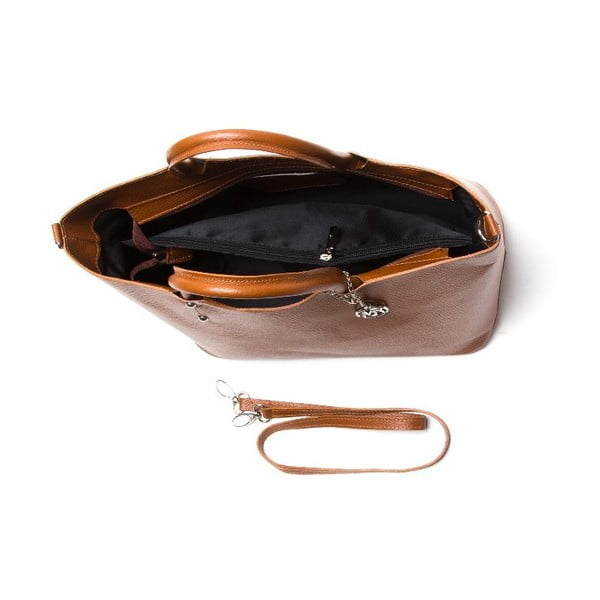 Kabelka Roberta M 1115 Cognac