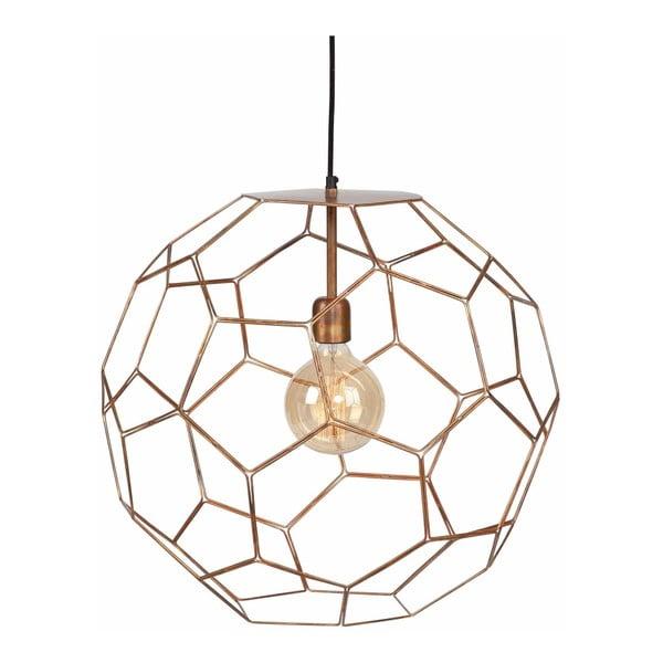 Marrakesh sárgarézszínű függőlámpa, ⌀ 55cm - Citylights