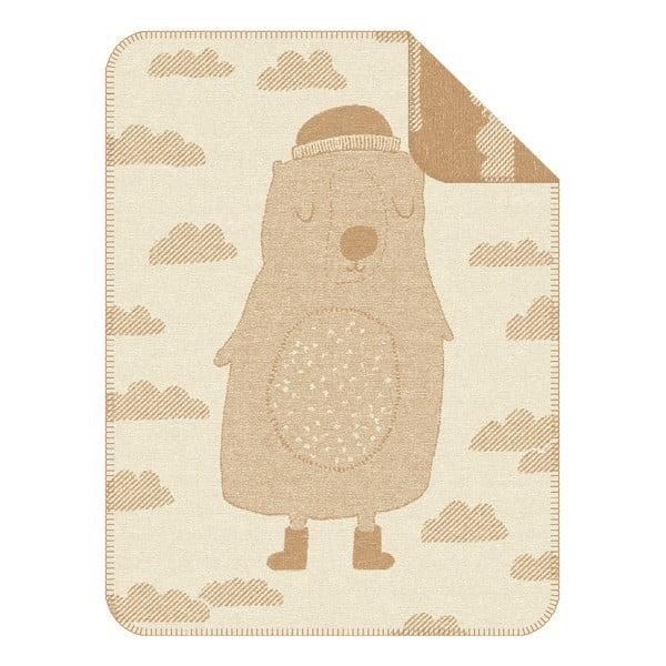 Dětská deka S.Oliver, 75x100 cm, motiv medvídka