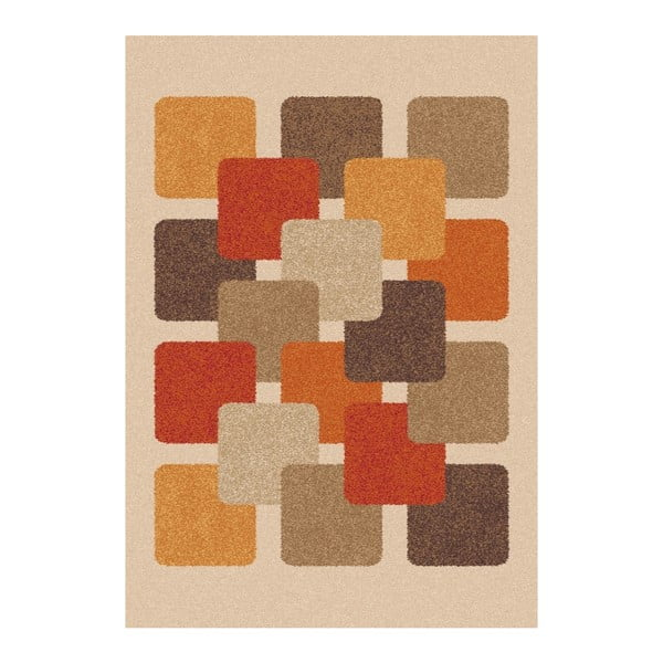 Hnědobéžový koberec Universal Boras, 133x190cm