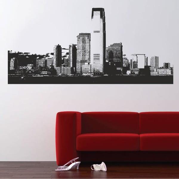 Samolepka na zeď Mrakodrap, 120x90 cm