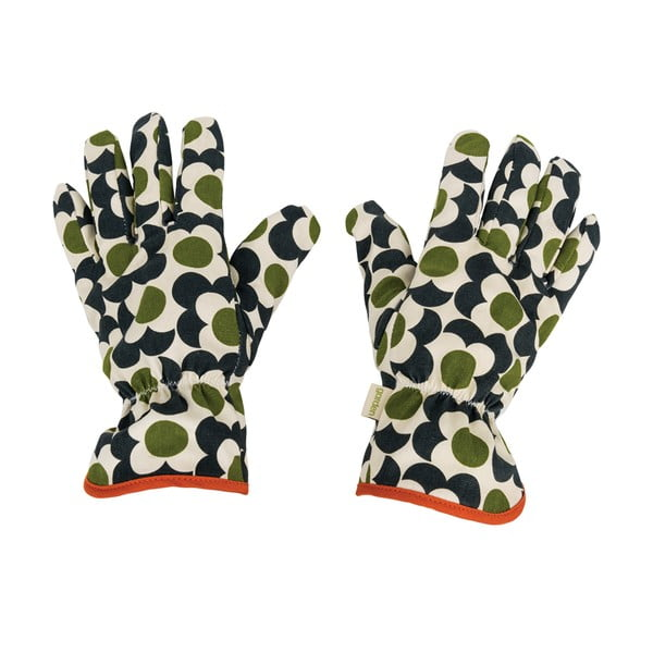 Zahradnické rukavice Orla Kiely Green Life