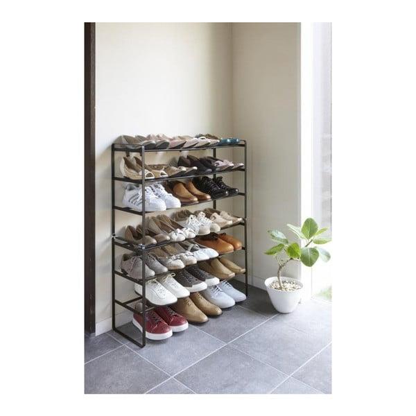 Pantofar ajustabil cu 3 etaje YAMAZAKI Maebashi, negru