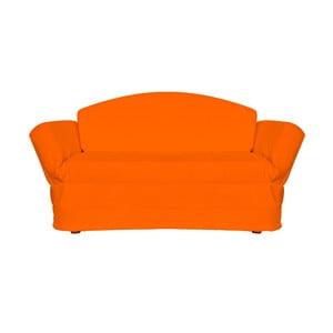 Canapea extensibilă cu 3 locuri 13Casa Versus, portocaliu