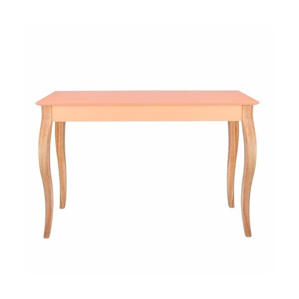 Oranžový odkládací stolek Ragaba Console,délka105cm