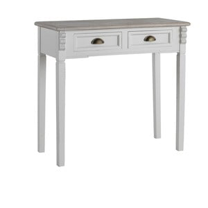 Bílý konzolový stolek Geese Vintage